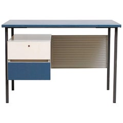 Gispen 3803 Industrial Desk with Privacy Screen