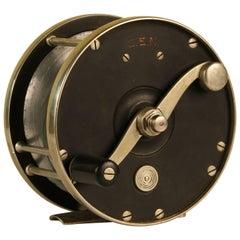 Edward Vom Hofe Restigouche 6/0 Fishing Reel with Original Leather Case