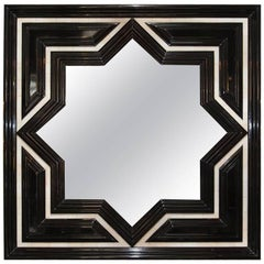 Fatima Mirror with Faux Ivory Accents