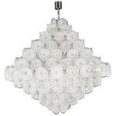 Pyramid Disc Chandelier