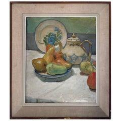 Still Life French, circa 1940 Oil on Canvas