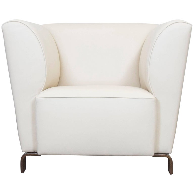 brühl and sippold designer leather armchair cream for sale at 1stdibs, Hause deko