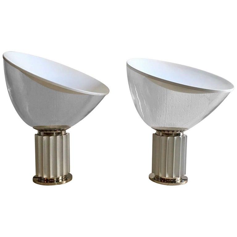"Pair of ""Taccia"" Lamps by Achille and Castiglioni"