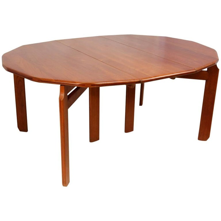 Solid Teak Dining Table Dutch Circa For Sale At Stdibs - Solid teak dining table for sale