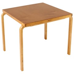 Alvar Aalto Square Table or Desk Model 81B Finmar