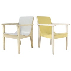 Rare Early 1930 Plywood Modernist Chairs