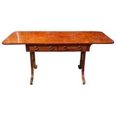 Very Fine Quality Early 19th Century Regency Mahogany Antique Sofa Table