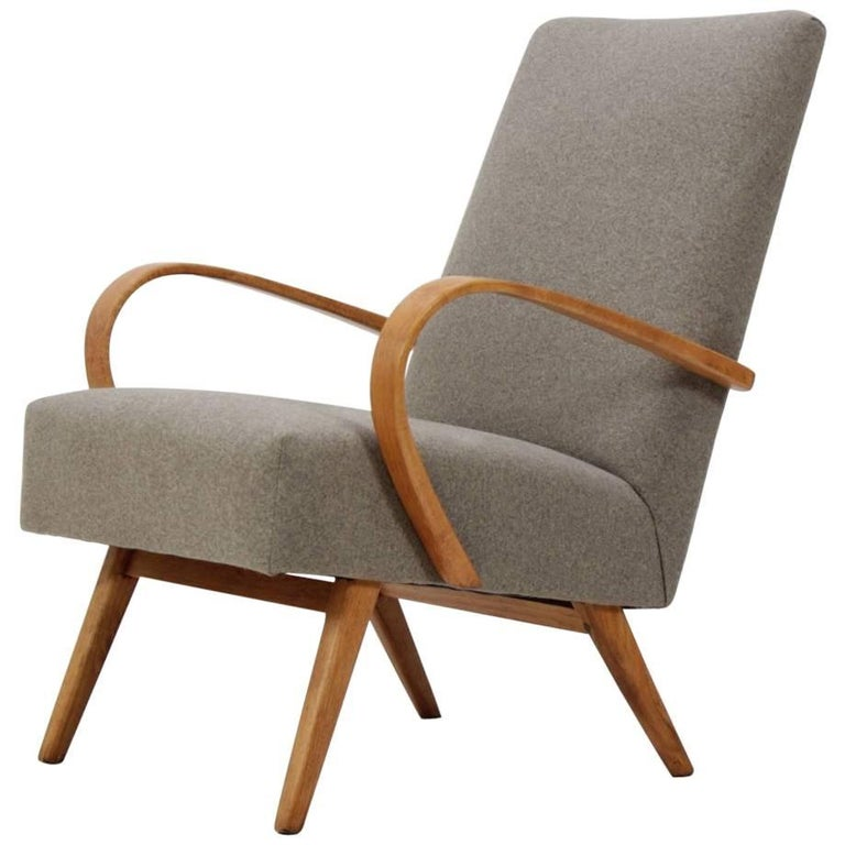 1960 Thon Thonet Bentwood Lounge Chair At 1stdibs