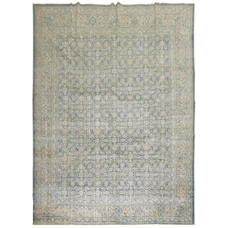 Shabby Chic Persian Malayer Rug For Sale