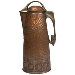 Aesthetic Period Copper Coffee Pitcher