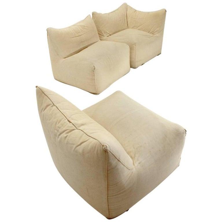 Modular Sofa Le Bambole By Mario Bellini For B B Italia For Sale At 1stdibs