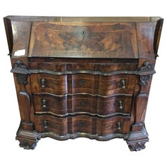 Briarwood Secretary Desk Bureau Chest, Italy