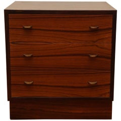 Brusko, Mid-Century Three-Drawer Chest