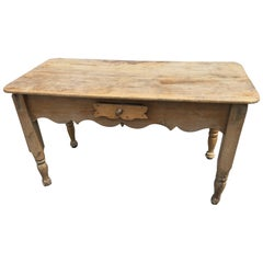 Spanish Colonial Table Mexico Sabino Wood