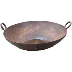 Vintage Bowl as Fire Pit