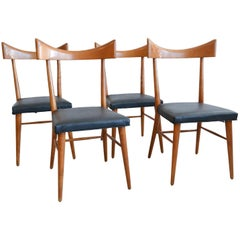 Paul McCobb Model 1534 Wingback Dining Chairs, Set of Four, circa 1955
