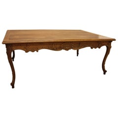 19th Century French Walnut Dining Table