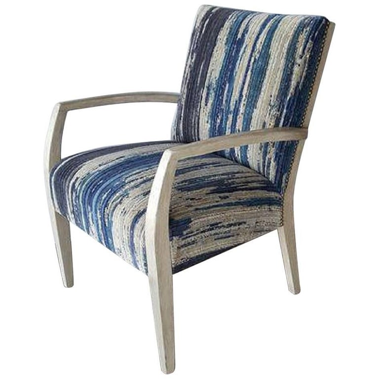 Mid-Century Lounge Occasional Chair Restored For Sale