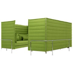 Pair of Ronan & Erwan Bouroullec Alcove Xtra High Sofas