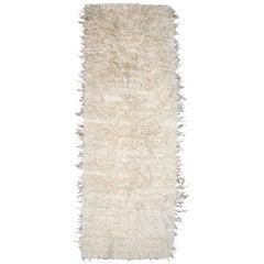 Mid-20th Century, True Tulu Goat Hair Rug from Turkey