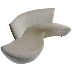 Large Sculptural Bilbao Sofa by Vladimir Kagan for Weiman Furniture