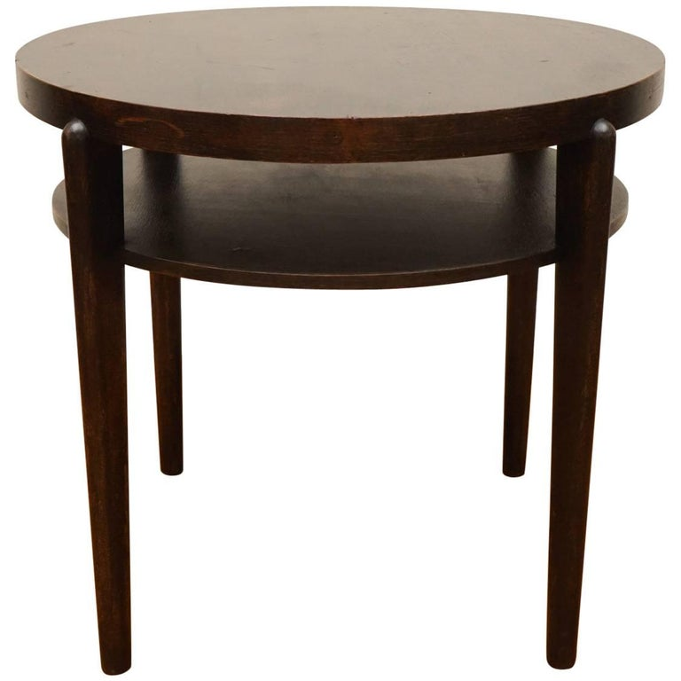 round wood tables for sale wooden side table for at 1stdibs 7821