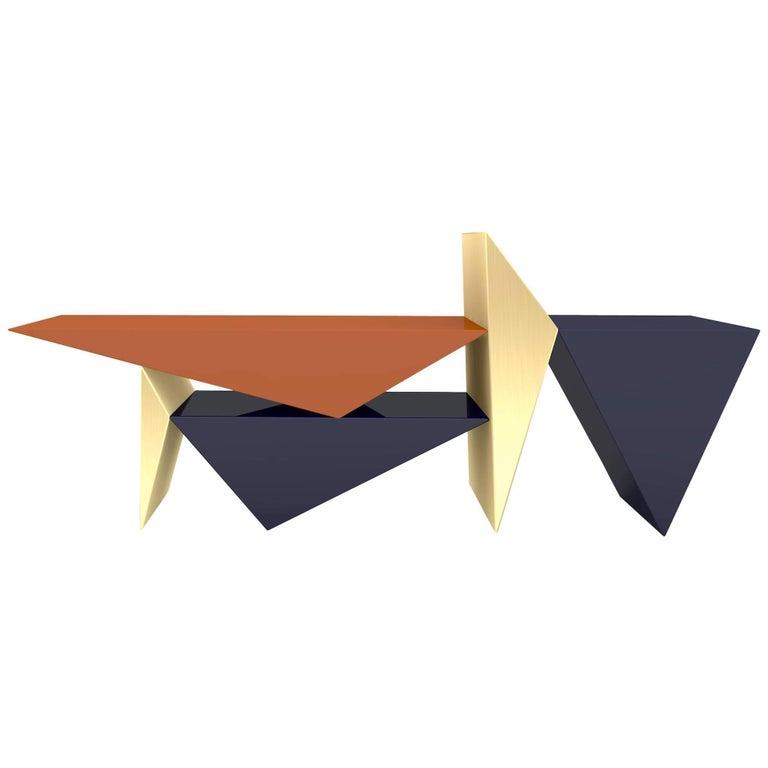 Contemporary Limit Bench by Leonardo Di Caprio, Handmade in Brazil For Sale