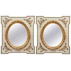 Pair of Stylish Late 19th Century French Mirrors
