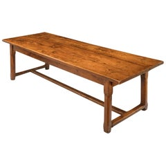Large 19th Century French Refectory Table