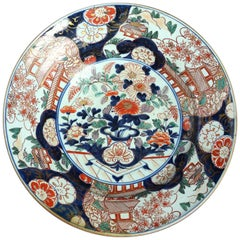 Large-Scale 18th Century Imari Charger