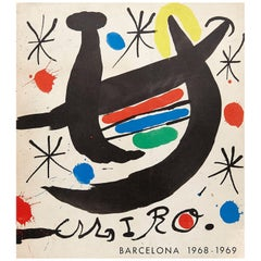 """Miró"" Exhibition 1968-1969 Catalogue"