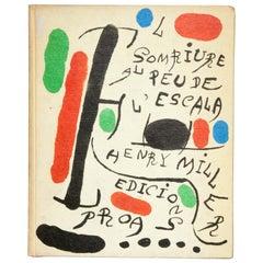 """Henry Miller & Joan Miró """"El Somriure al Peu de l'Escala"""" 1970 Book"""