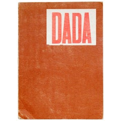 """DADA: Documenting a Movement"" 1958 Publication"