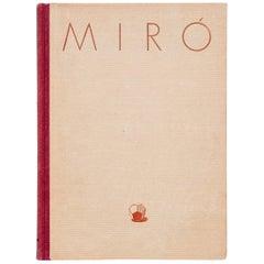 """Joan Miró """"Miró y la Imaginación"""" 1949 Book"""