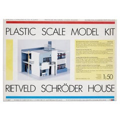 Rietveld Schröder Model House Toy, 1987