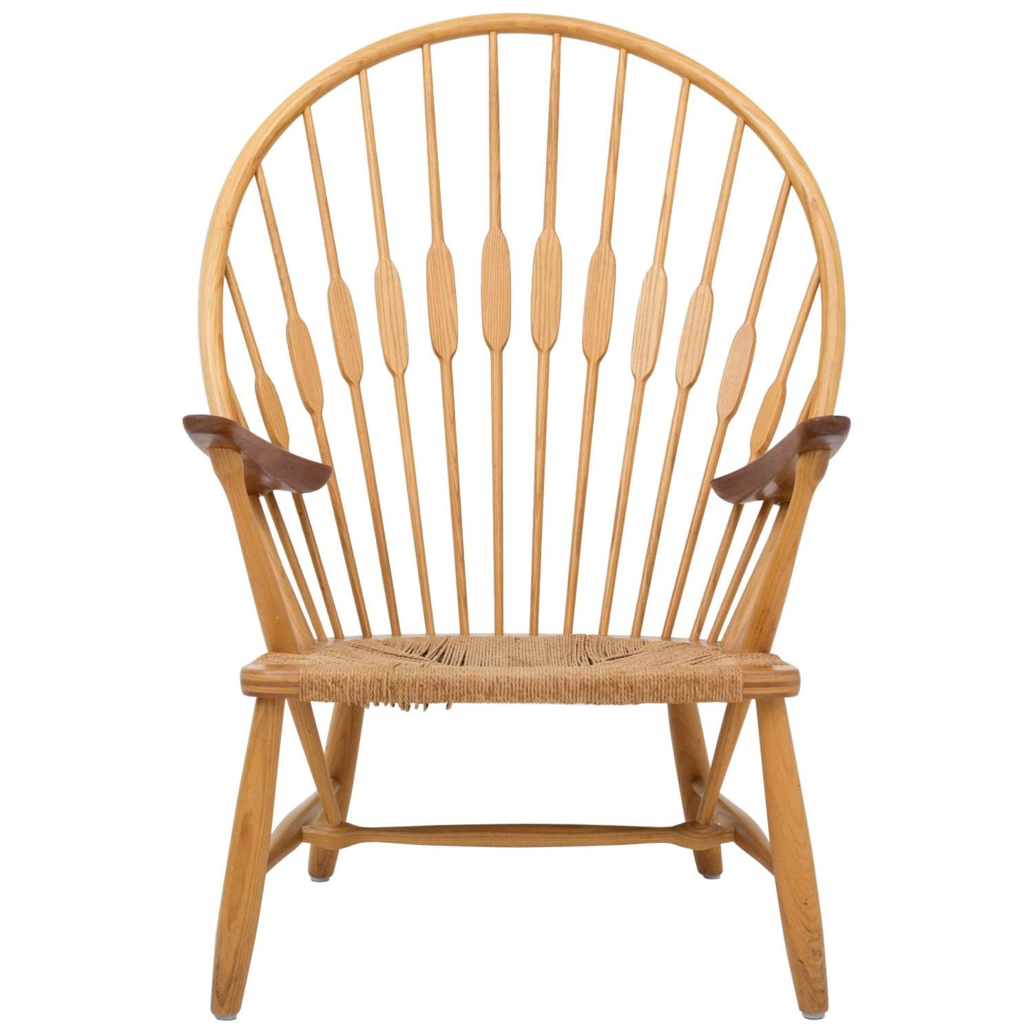 Hans J. Wegner JH 550 Peacock Chair 1