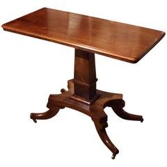 19th Century Adjustable Mahogany Regency Table