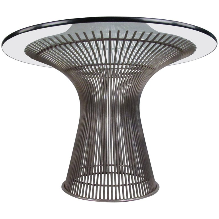 Iconic Warren Platner Dining Table for Knoll International