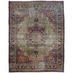 Persian Kerman Lavar First Quarter of the 20th Century Oriental Rug