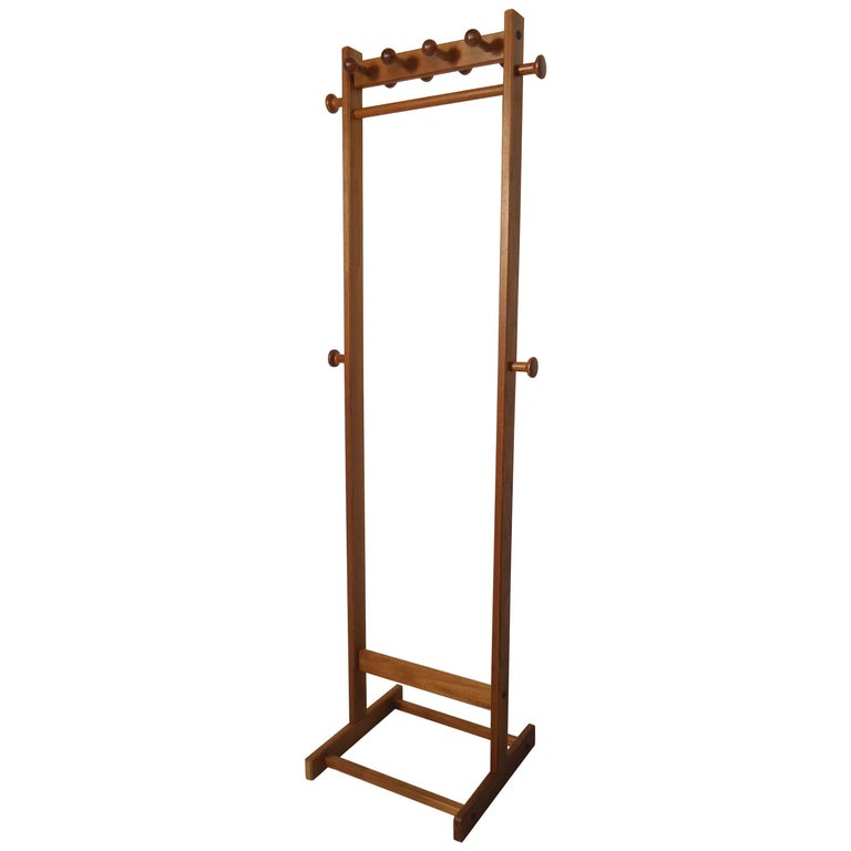 modern coat rack modern style standing coat stand for at 1stdibs 30430