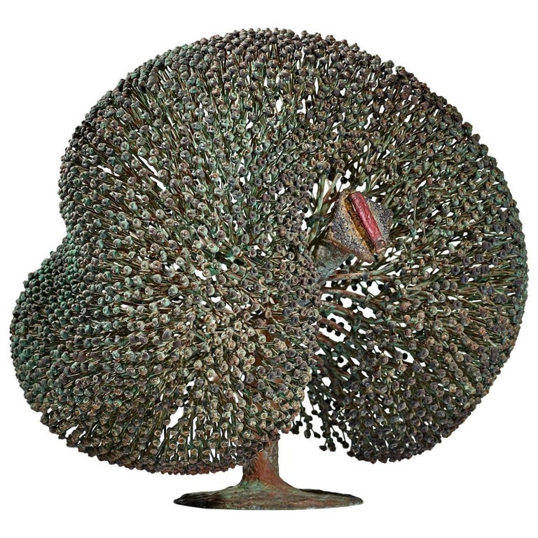 Large Harry Bertoia Bush Sculpture, 1973 For Sale
