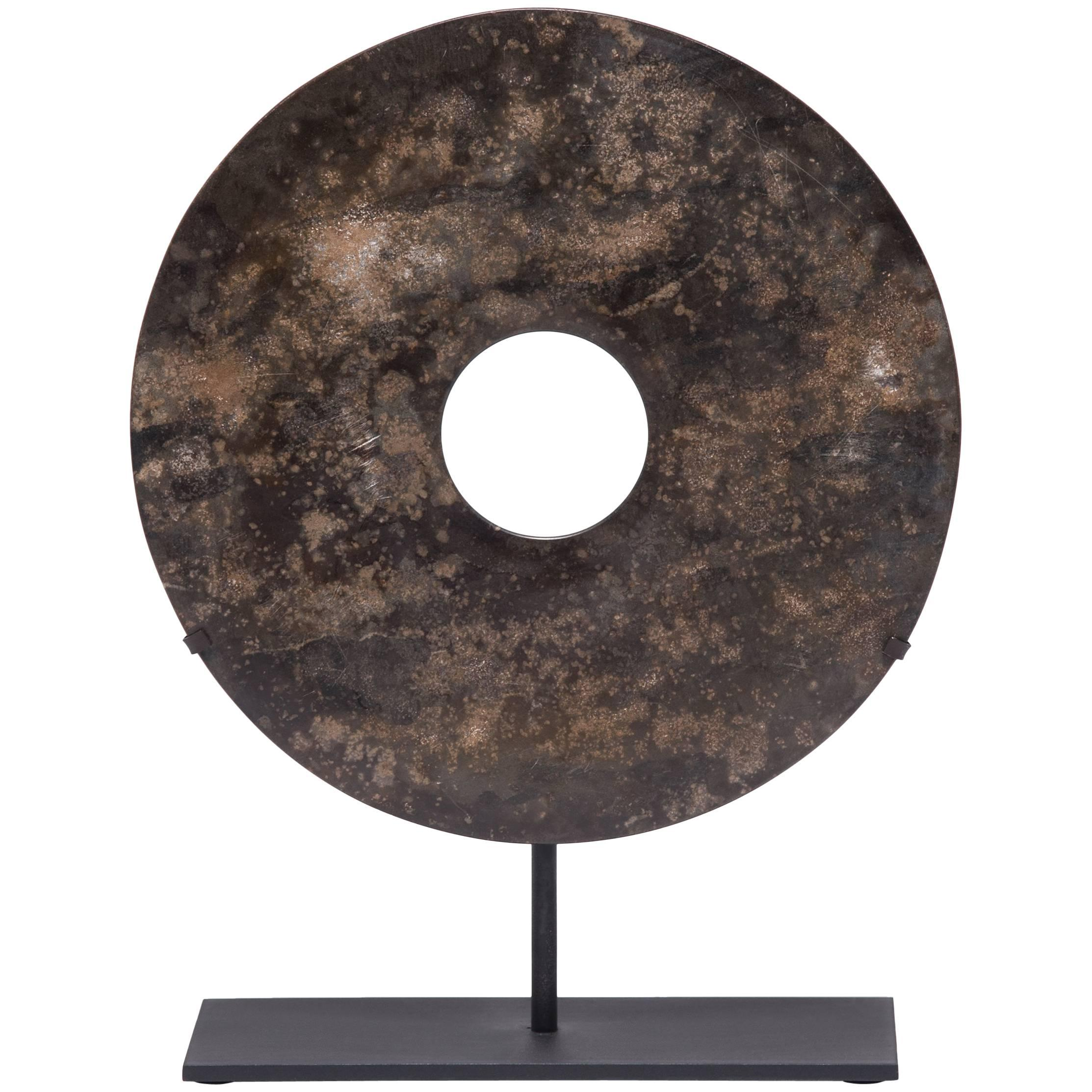 Authentic jade bi disc from ancient china 4000 years old for sale at authentic jade bi disc from ancient china 4000 years old for sale at 1stdibs biocorpaavc Choice Image