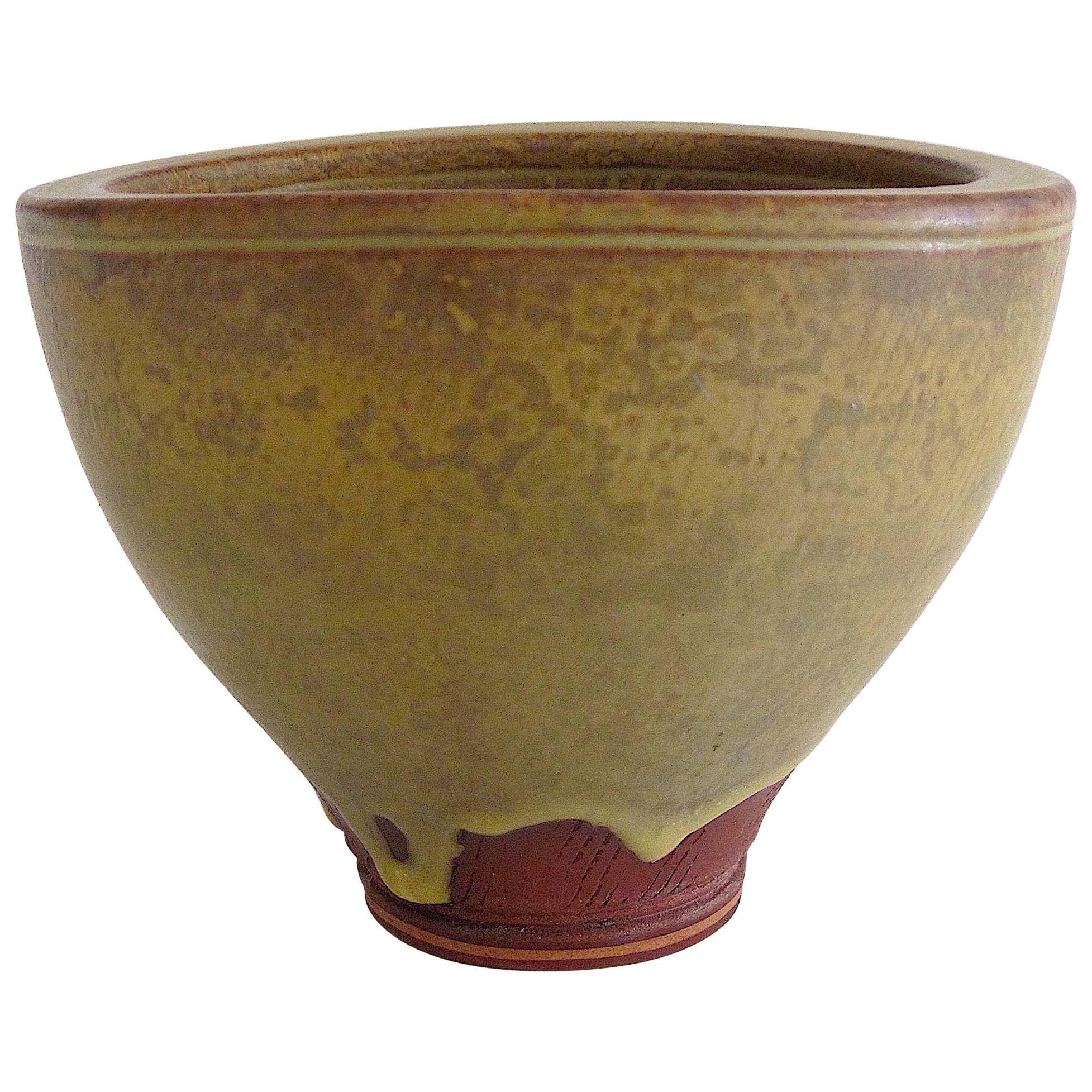 Elegant and Rare Wilhelm Kage Farsta Bowl