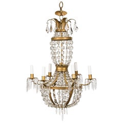 Unusual French Empire Chandelier