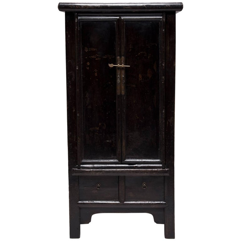 Chinese Lacquered Two-Door Noodle Cabinet 1