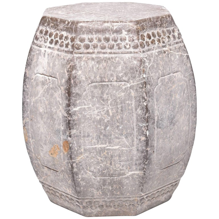 Chinese Eight Corner Stone Drum 1
