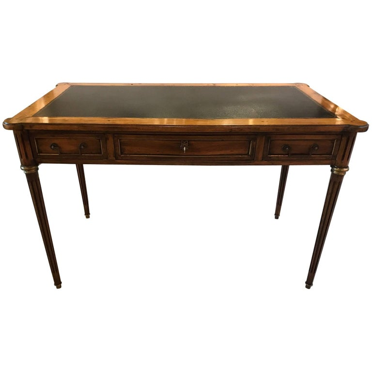 French Fruitwood Writing Table Desk By Bloomingdale 39 S At 1stdibs