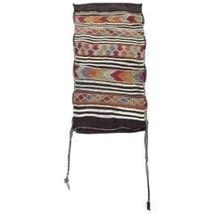 Vintage Moroccan Grain Sack Wall Art