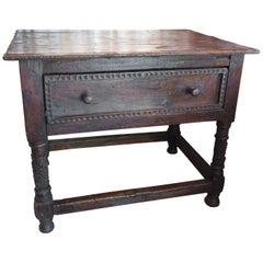 18th Century Spanish Colonial Table
