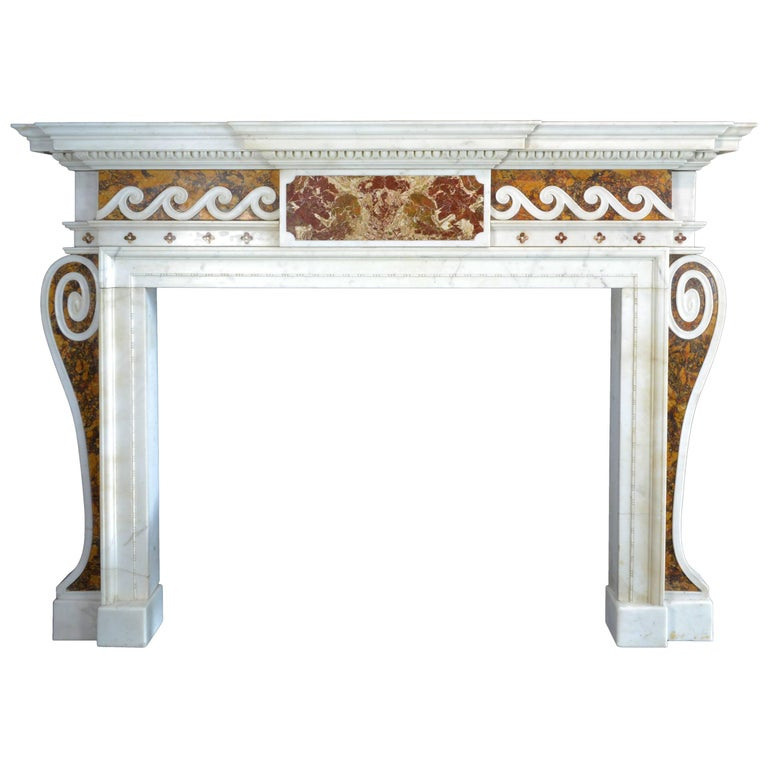 Mid-18th Century English Mantelpiece in the Style of Sir Henry Cheere
